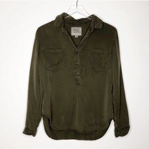Thread & Supply | Green Button Down Shirt Size S